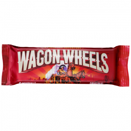 Печенье Wagon wheels с суфле Оригинал 216г
