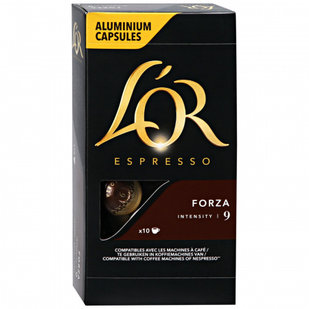 Капсулы L'or Espresso Forza Intensity 9 10 штук по 5.2 г