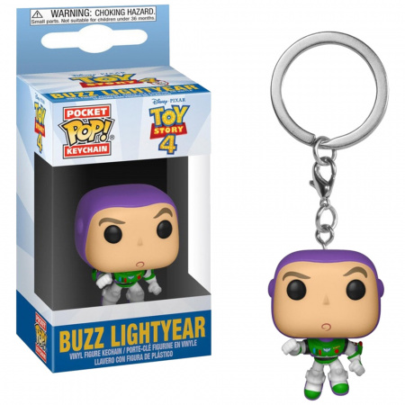 Брелок Funko Pocket POP! Keychain: Disney: Toy Story 4: Buzz 37418-PDQ