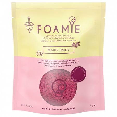 Губка Foamie для душа пенящаяся Beauty Fruity