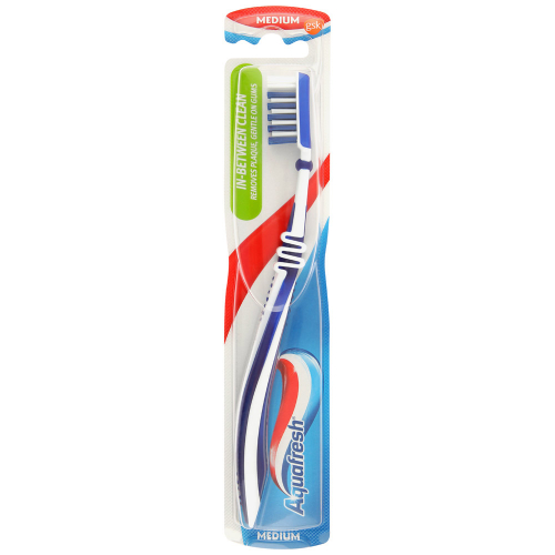 Зубная щетка Aquafresh Flex Direct средней жесткости
