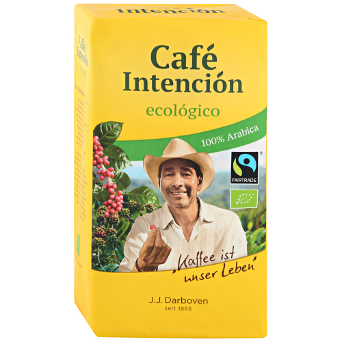 Кофе Darboven Intencion ecologico молотый 500 г