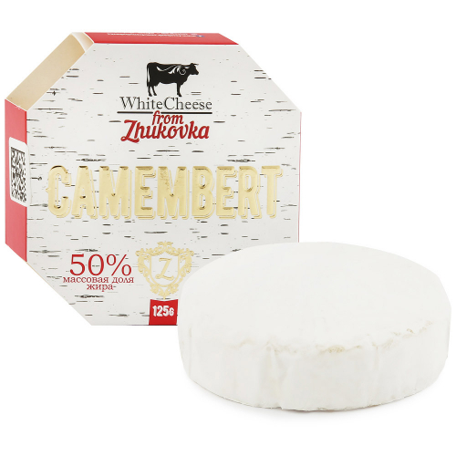 Сыр мягкий WhiteCheese from Zhukovka Камамбер 50% 125 г