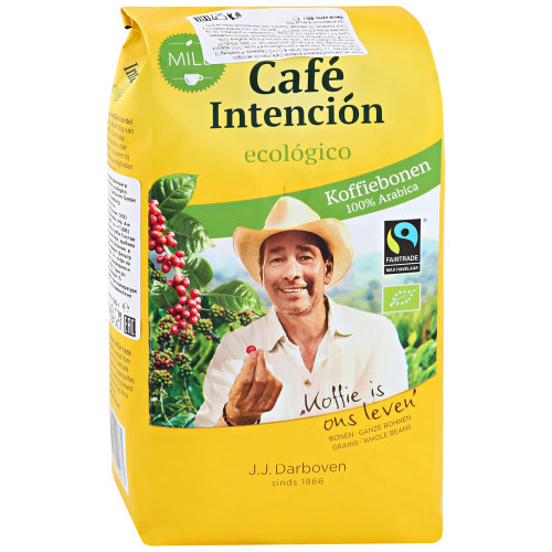 Кофе Darboven Cafe Intencion ecologico в зернах 500 г