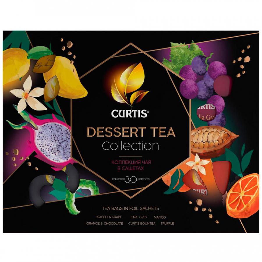Набор чая Curtis Dessert Tea Collection 6 вкусов