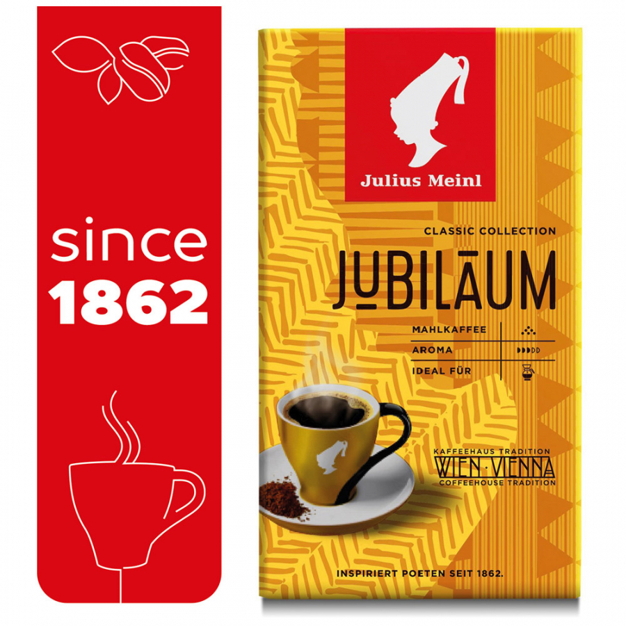 Кофе Julius Meinl Jubilaum Classic Collection молотый 500 г