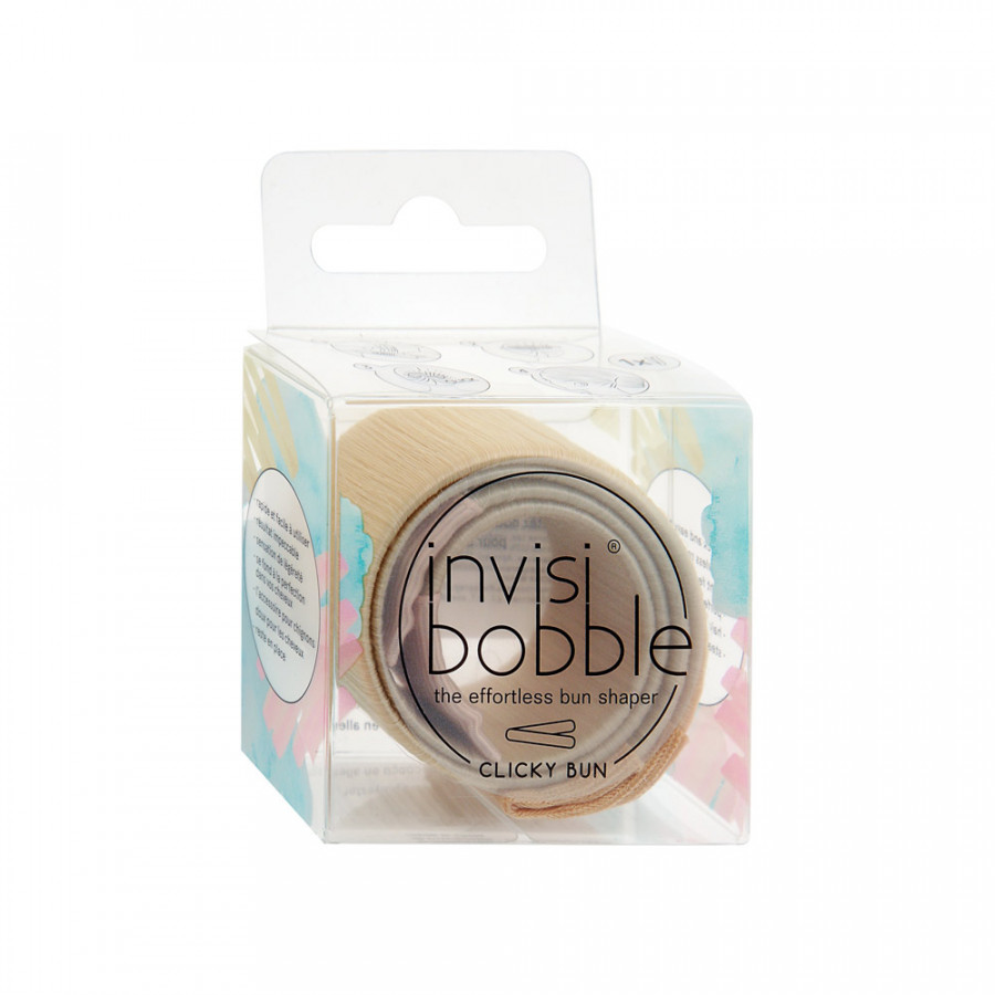 Заколка для пучков Invisibobble Clicky Bun To Be Or Nude To Be 1 штука