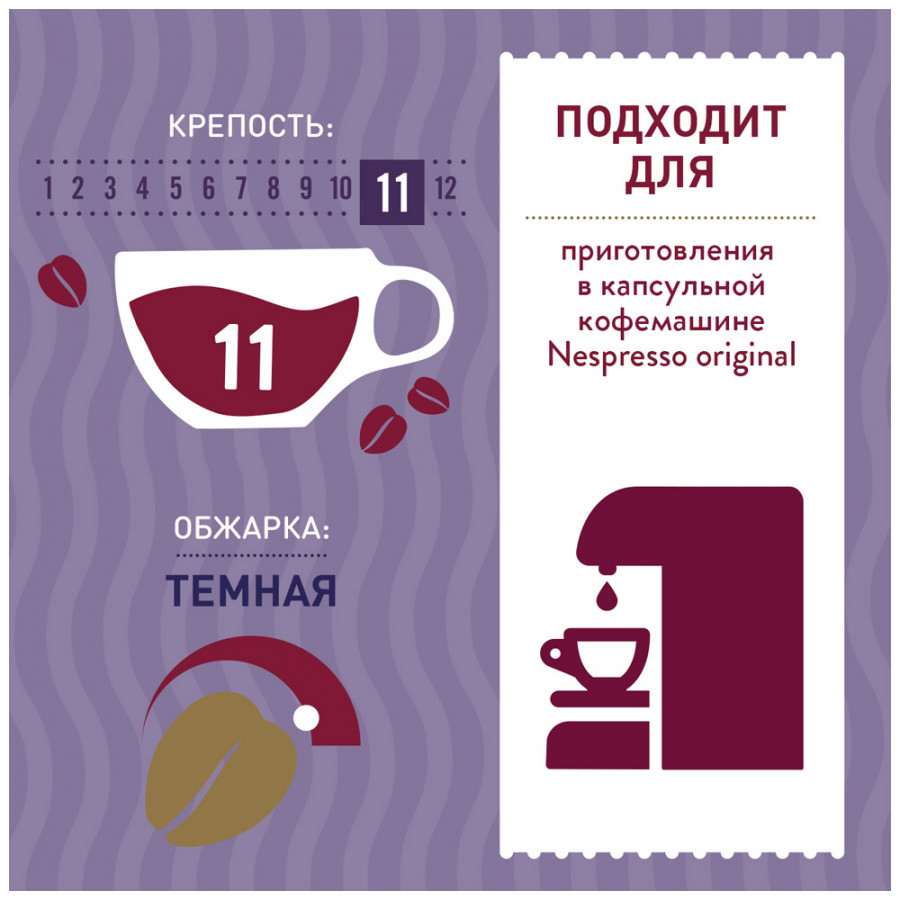 Капсулы Costa Coffee Lively Blend Ristretto 10 капсул 55 г